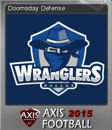 Axis Football 2015 Foil 8
