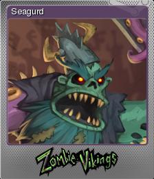 Zombie Vikings Foil 5