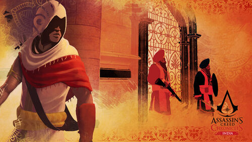 Assassin's Creed Chronicles India Artwork 1