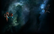 EVE Online Background Wormhole Exploration