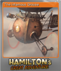 Hamilton's Great Adventure Foil 4