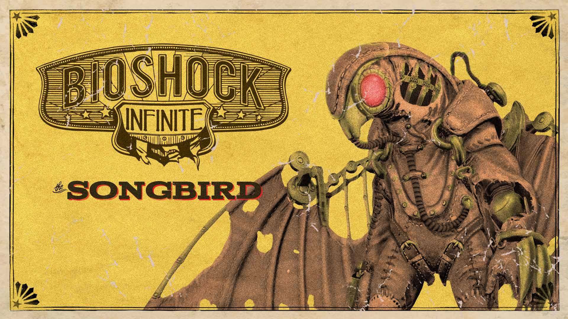 Bioshock infinite songbird steam trading cards wiki - Bioshock wikia ...