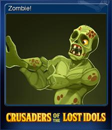 Crusaders of the Lost Idols Card 4