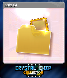 Crystal Chip Collector Card 4