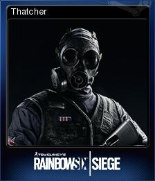 Tom Clancy's Rainbow Six Siege Card 05