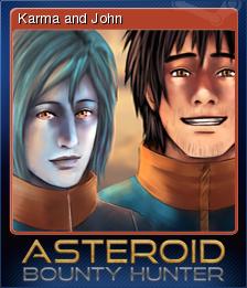 Asteroid Bounty Hunter Card 4