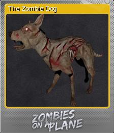 Zombies on a Plane Foil 5