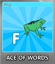 Ace Of Words Foil 6