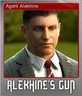 Alekhine's Gun Foil 1