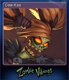 Zombie Vikings Card 3