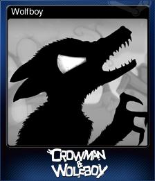 Crowman & Wolfboy Card 2