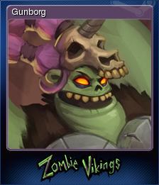 Zombie Vikings Card 1