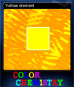 Color Chemistry Card 3
