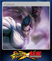 Street Fighter X Tekken Card 5