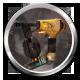 Ravaged Zombie Apocalypse Badge Foil