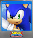 Sonic & All-Stars Racing Transformed Foil 1