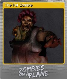 Zombies on a Plane Foil 2