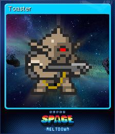Super Space Meltdown Card 8