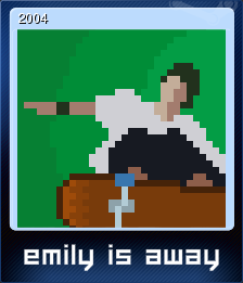 Emily is Away Card 3