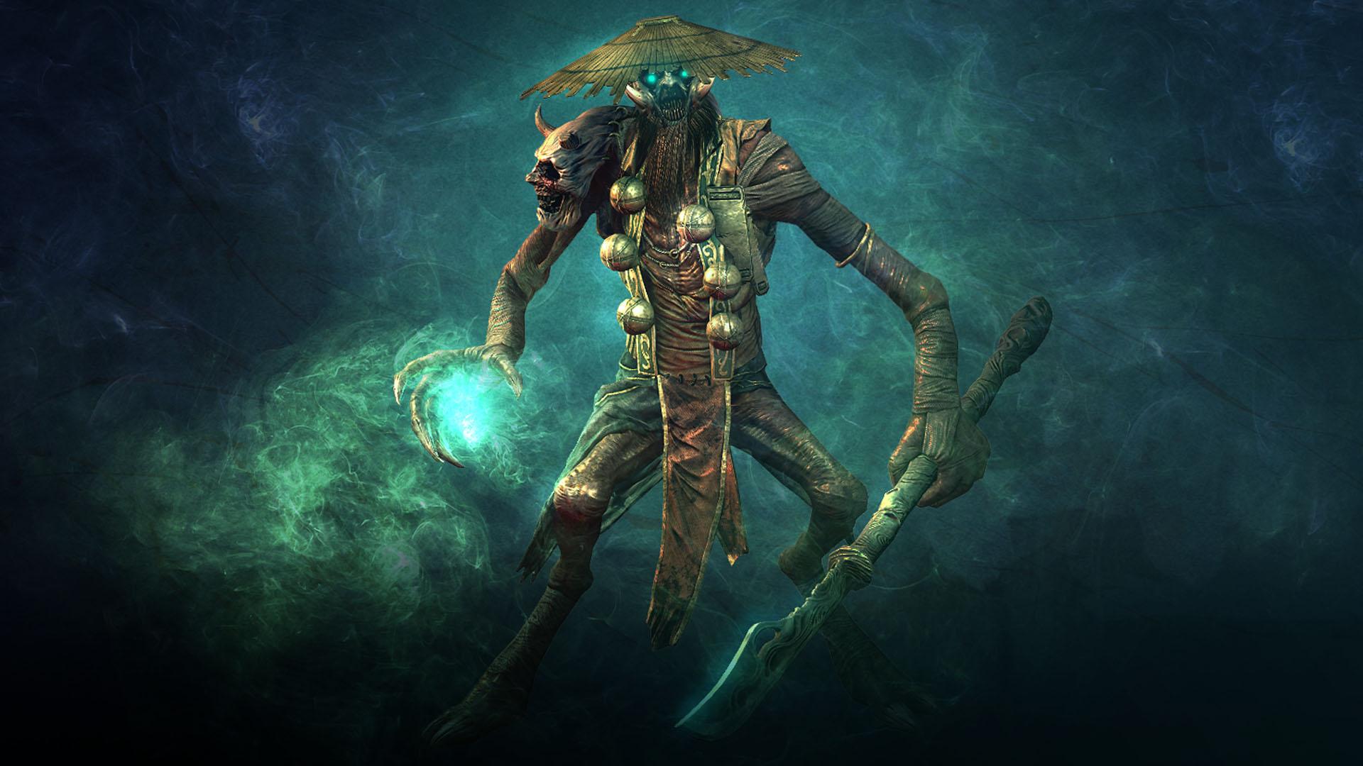 Shadow Warrior - Shaman | Steam Trading Cards Wiki ... Letter R Wallpaper