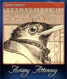 Aviary Attorney Card 2