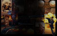 Ironclad Tactics Background Graphic Novel