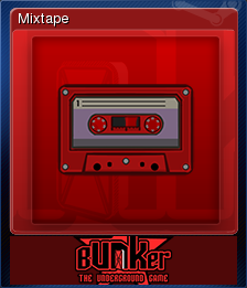 Bunker - The Underground Game Card 14