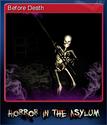 Horror in the Asylum Card 1