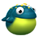 Toki Tori 2+ Emoticon frog