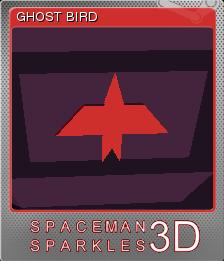 Spaceman Sparkles 3D Foil 1