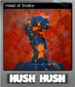 Hush Hush - Unlimited Survival Horror Foil 04
