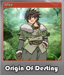 Origin Of Destiny Foil 2