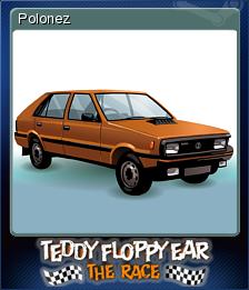 Teddy Floppy Ear - The Race Card 03