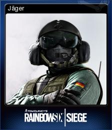 Tom Clancy's Rainbow Six Siege Card 08