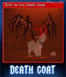 Death Goat Card 5