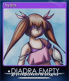 Diadra Empty Card 5