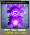 UnSummoning the Spectral Horde Foil 3