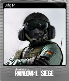 Tom Clancy's Rainbow Six Siege Foil 08