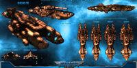 Artillery ship