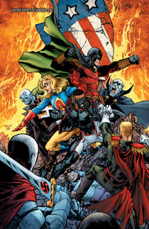 Justice Society of America (2007-2011) - Axis of Evil-117