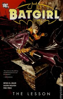 Batgirl The Lesson TPB cover
