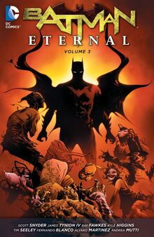 Batman Eternal volume 3 TPB cover