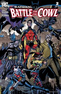 Battle for the Cowl 2 cover