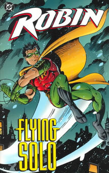 Robin flying solo TPB