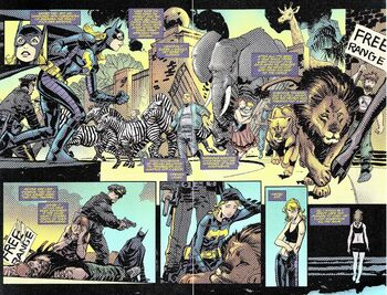 Convergence batgirl 1 page 12 13
