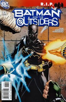 Batman and the Outsiders 13 Cover