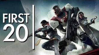 Destiny 2 Beta - First20