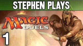 "Magic Duels 1 - ""Learn to Play Magic!"""