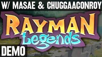Rayman Legends (w Masae & Chuggaaconroy) - Demo Fridays