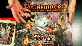 Basics of the Pathfinder Adventure Card Game (Day 1766 - 9 25 14)